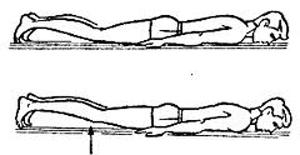 Подтягивание колен